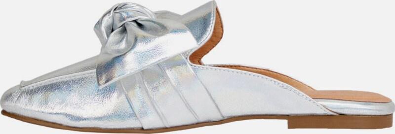 Bianco Schleifen Pantolette