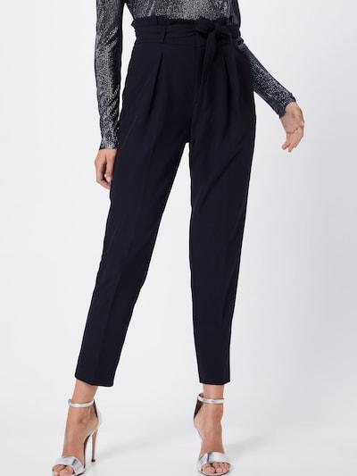 fekete ONLY Élére vasalt nadrágok 'FRESH PAPERBACK', Modell nézet
