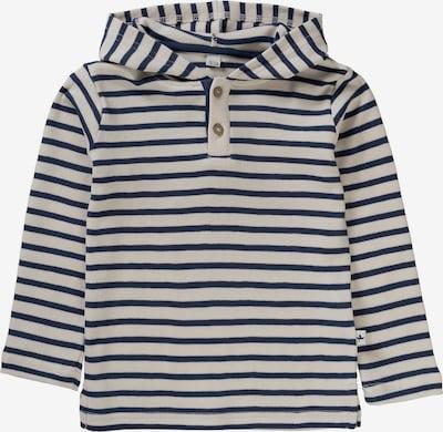 Leela COTTON Langarmshirt in blau / wollweiß, Produktansicht