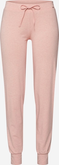 Skiny Pyjamahose in pinkmeliert, Produktansicht