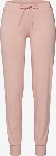 Skiny Pantalon de pyjama en rose: Vue de face