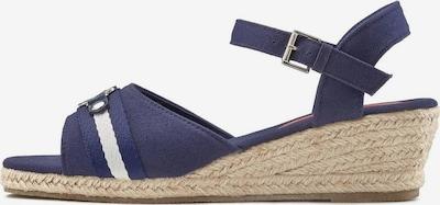 LASCANA Sandalette in dunkelblau, Produktansicht
