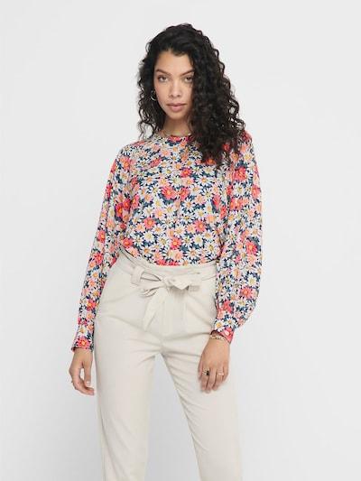 ONLY Blumenprint Oberteil in mischfarben, Modelansicht