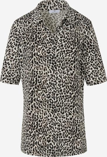 Peter Hahn 'Jersey-Bluse mit 1/2-Arm' in braun / mischfarben / weiß, Produktansicht