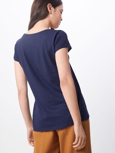 Marškinėliai 'AVIVI' iš DRYKORN , spalva - mėlyna: Vaizdas iš galinės pusės