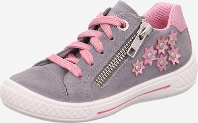 SUPERFIT Baskets 'TENSY' en gris / rose, Vue avec produit