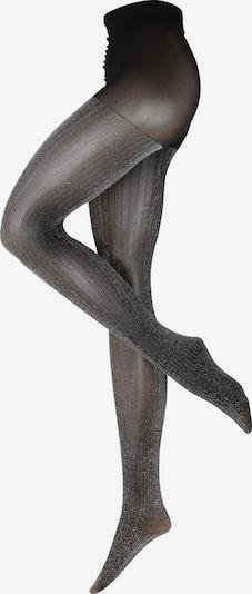 Ștrampeni fini 'Lisa' Swedish Stockings pe negru / argintiu, Vizualizare produs