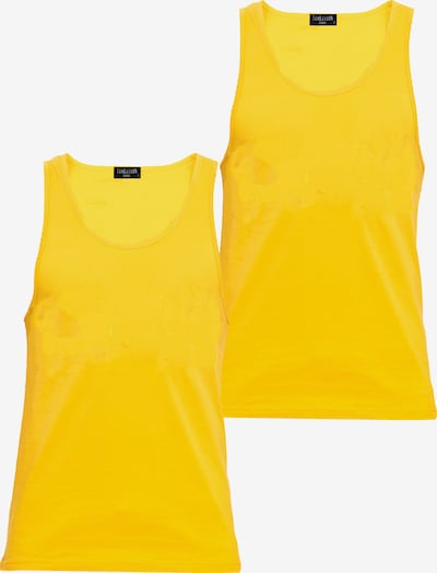 Tom Barron Tank Top in gelb, Produktansicht
