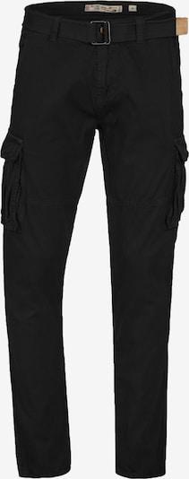 INDICODE JEANS Cargobroek 'William' in de kleur Zwart, Productweergave