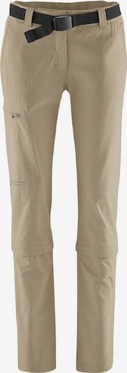 Maier Sports Hose 'Damen Hose Arolla' in beige, Produktansicht