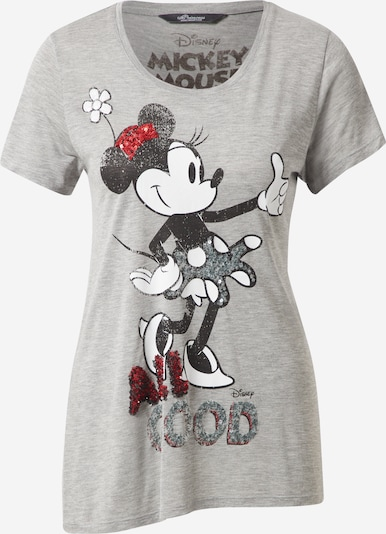 PRINCESS GOES HOLLYWOOD T-shirt 'Minnie' en gris / rouge rubis / noir / blanc, Vue avec produit