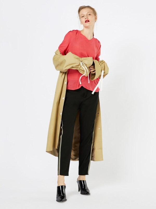 SAINT TROPEZ Bluse mit Rüschen