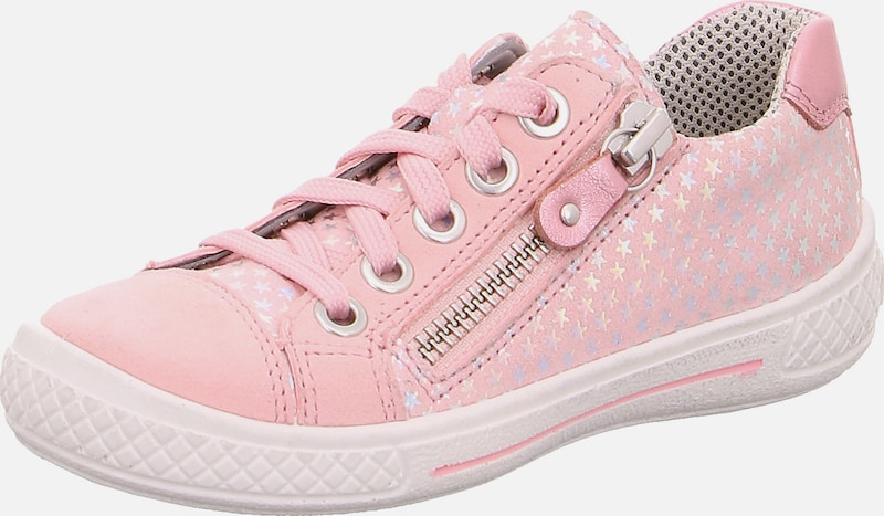 SUPERFIT Halbschuhe 'TENSY' in rosa: Frontalansicht