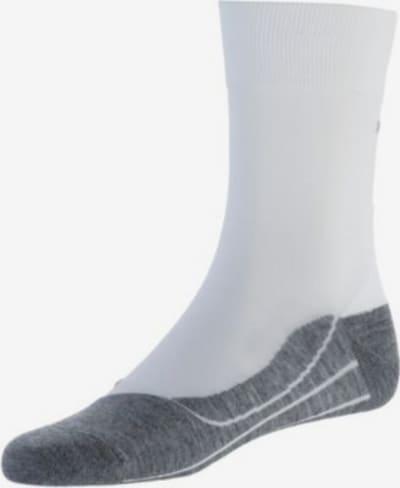 FALKE Sportsokken in de kleur Grijs / Wit, Productweergave