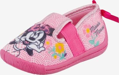 DISNEY Hausschuh 'Minnie Mouse' in mischfarben / pink, Produktansicht
