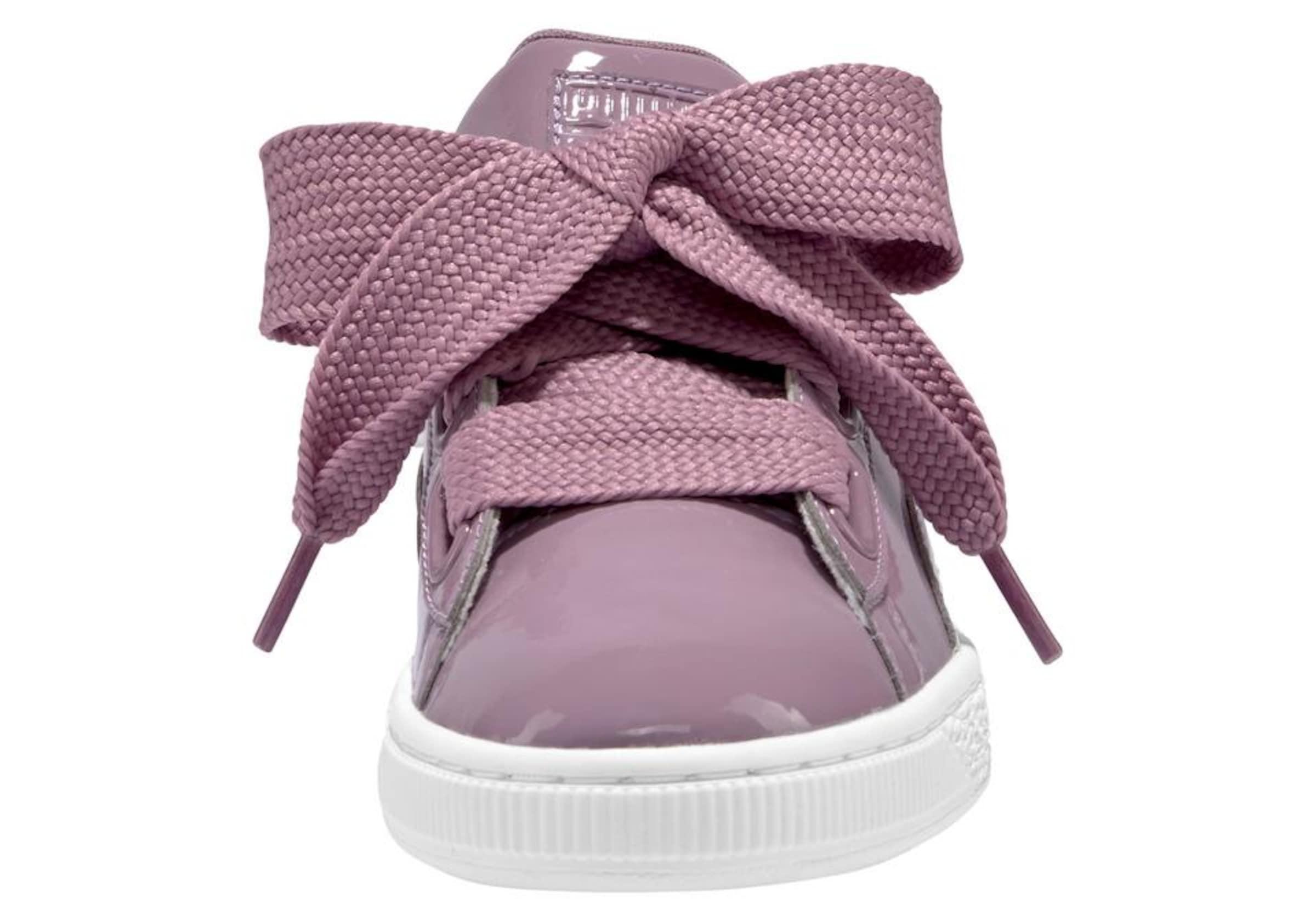 Heart Sneaker In 'basket Puma Patent' Qrcdtsxohb Lila u35KJlTF1c