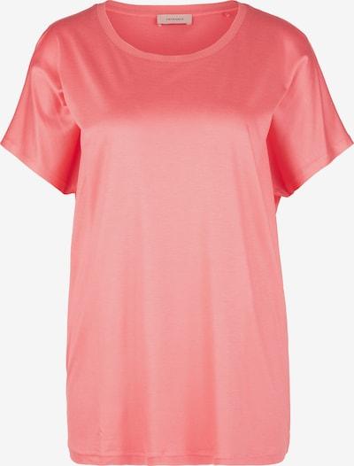 TRIANGLE T-shirt en rouge pastel, Vue avec produit