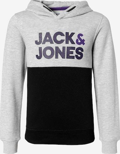 Jack & Jones Junior Sweatshirt 'JCOMILLERS' in marine / graumeliert, Produktansicht