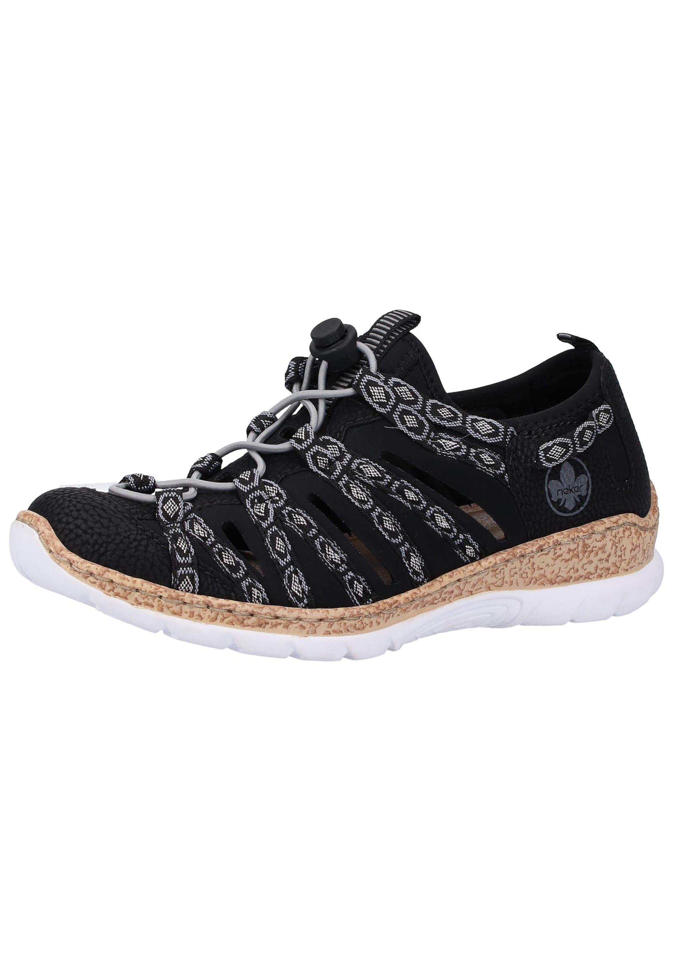 get cheap cheap for discount 100% top quality RIEKER Halbschuhe in weiß schwarz cc8c0vpth31638-Schuhe ...