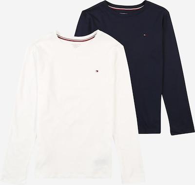 Miego kostiumas '2P CN TEE LS' iš Tommy Hilfiger Underwear , spalva - juoda / balta, Prekių apžvalga