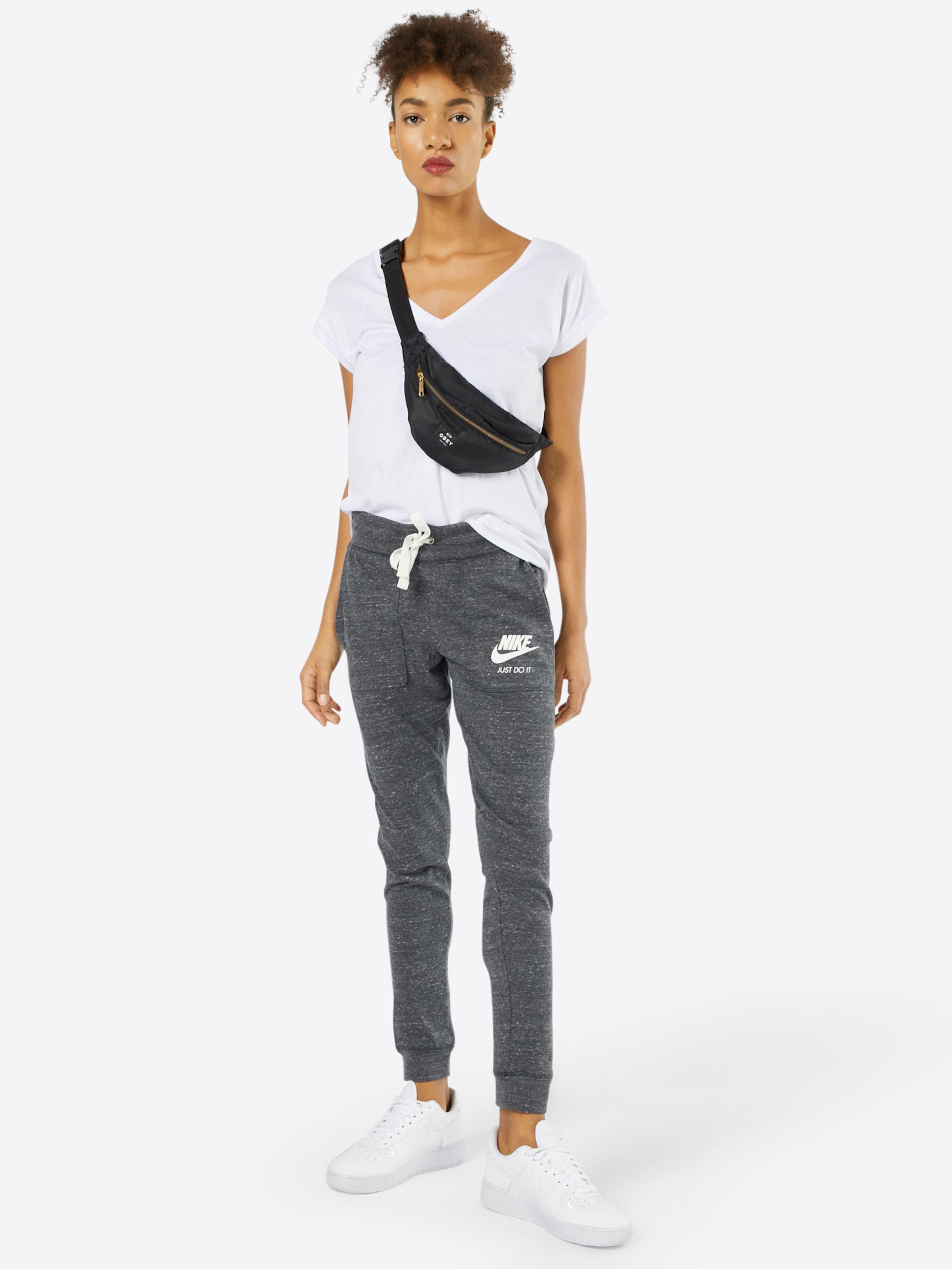 Sportswear Pants' Nike Pantalon 'vintage En Anthracite dhsQxrCBt