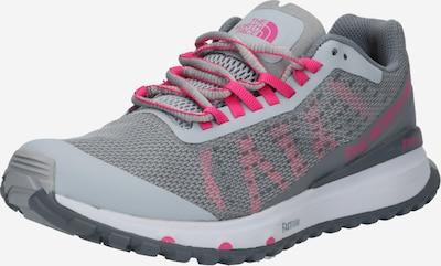 THE NORTH FACE Chaussure de sport en gris clair / gris chiné / rose, Vue avec produit