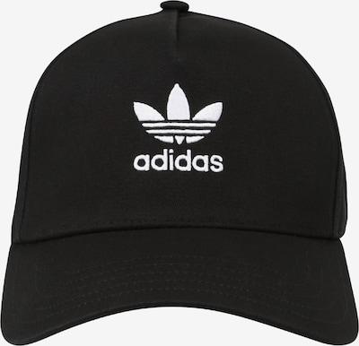 ADIDAS ORIGINALS Cap in black / white, Item view