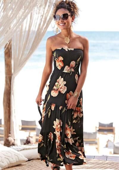 LASCANA Strandkleid in mischfarben, Modelansicht