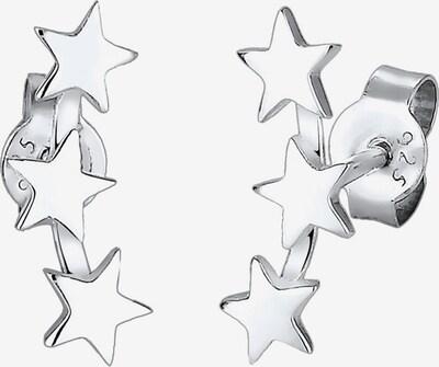ELLI Oorbellen 'Astro' in de kleur Zilver, Productweergave