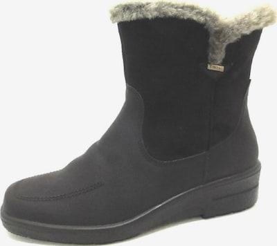 Jenny Snowboots in schwarz: Frontalansicht