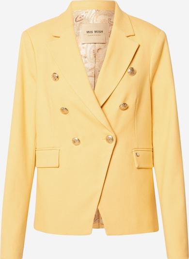Blazer švarkas 'Beliz Twiggy' iš MOS MOSH , spalva - aukso geltonumo spalva / Auksas, Prekių apžvalga