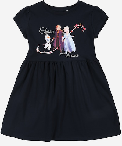 NAME IT Kleid 'Frozen Jannie Wdi' in marine / mischfarben, Produktansicht