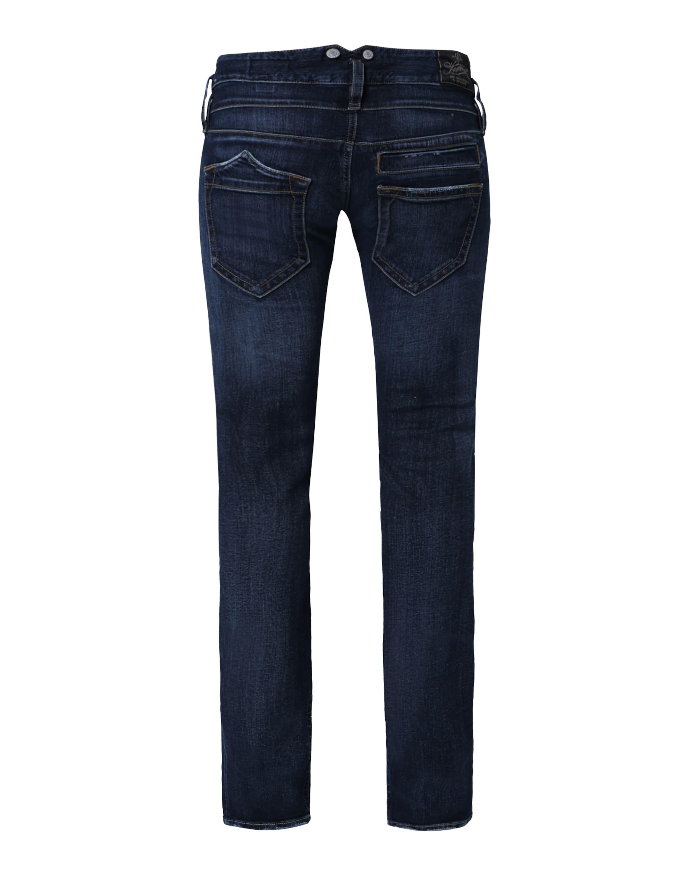 Straight In 'pitch' Herrlicher Dunkelblau jeans fit xeoBdCr