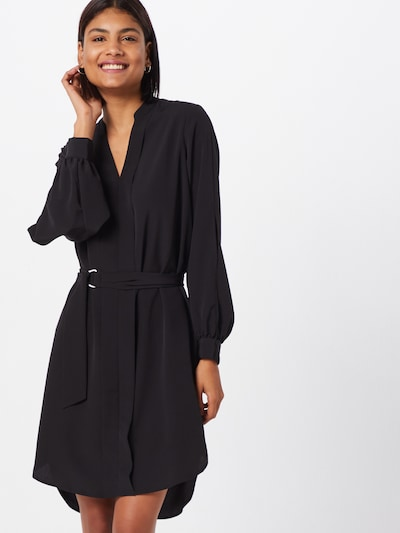 SELECTED FEMME Kleid 'slfjade-dynella' in schwarz, Modelansicht