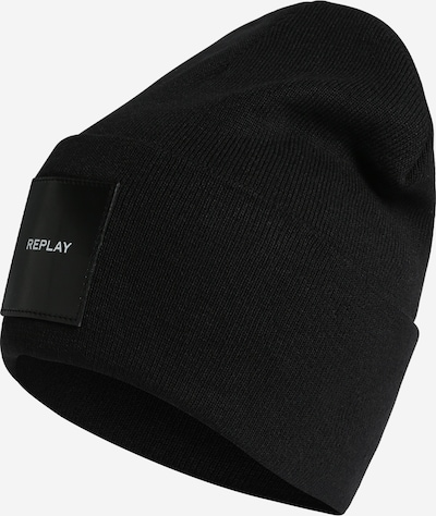 REPLAY Beanie in schwarz, Produktansicht