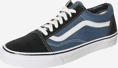 VANS Sneaker Low 'OLD SKOOL' in navy / schwarz / weiß: Frontalansicht