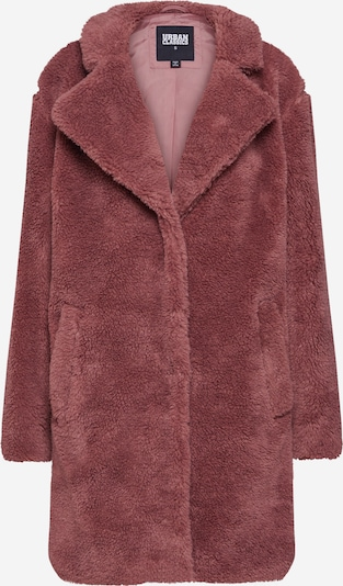 Urban Classics Mantel 'Ladies Oversized Sherpa Coat' in himbeer, Produktansicht