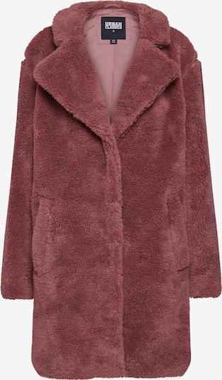rózsa Urban Classics Átmeneti kabátok 'Sherpa Coat', Termék nézet