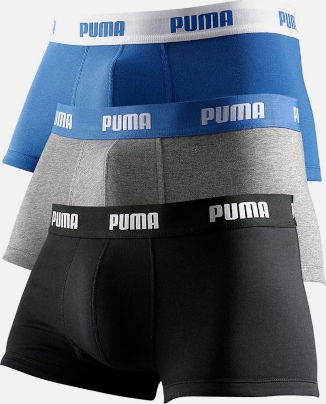 PUMA Hipster (3 Stück) mit Logodruck auf breitem Bund