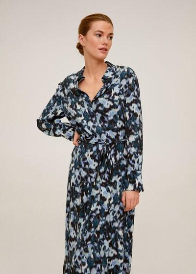 MANGO Kleid 'Alexis' in blau, Modelansicht