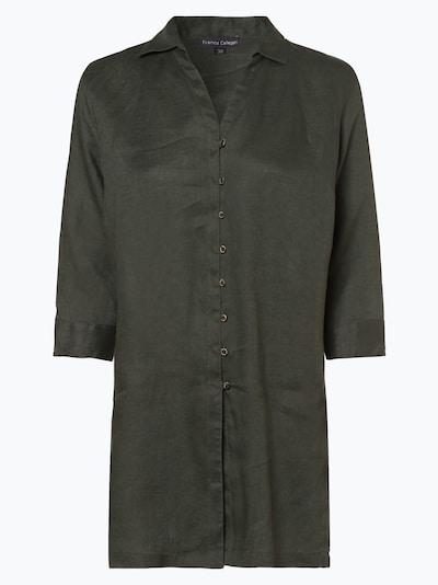 Franco Callegari Bluse in basaltgrau, Produktansicht