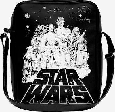 LOGOSHIRT Tasche 'Krieg der Sterne' in schwarz / weiß, Produktansicht