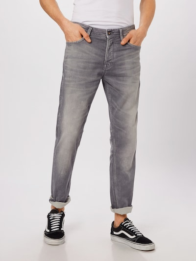 JACK & JONES Jeans 'JJITIM JJLEON' in grey denim, Modelansicht