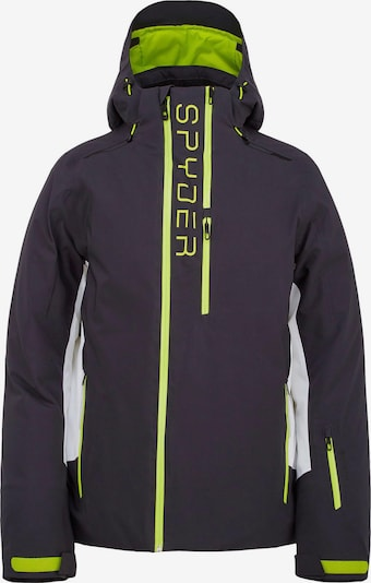 SPYDER Skijacke in schwarz, Produktansicht