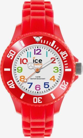 ICE WATCH Uhr in mischfarben / rot, Produktansicht