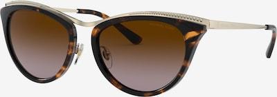 Michael Kors Sonnenbrille in braun / gold, Produktansicht