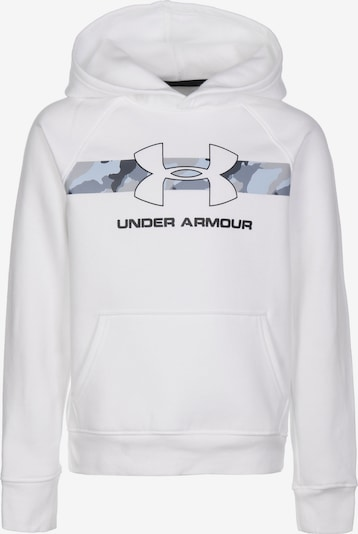 UNDER ARMOUR Sportief sweatshirt 'Rival' in de kleur Wit, Productweergave