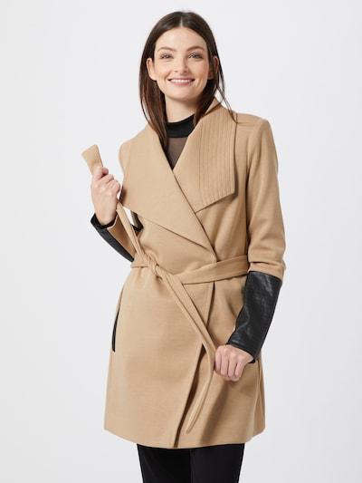 VERO MODA Prijelazni kaput 'VMDALLASCALA' u boja devine dlake (camel) / crna, Prikaz modela