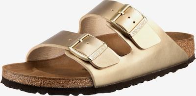 BIRKENSTOCK Pantoletten 'Arizona Birko' in gold, Produktansicht