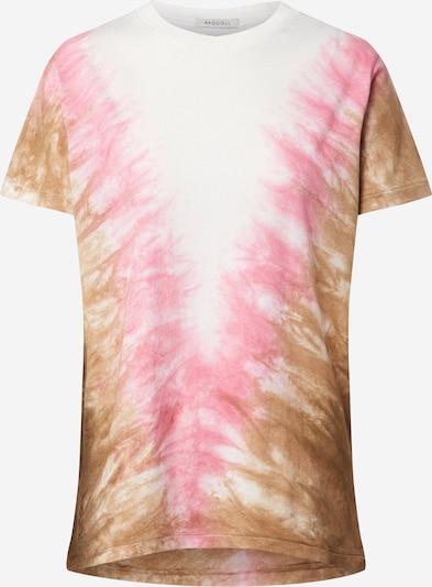 Ragdoll LA Majica 'Tie Dye Vintage' u roza / bijela, Pregled proizvoda
